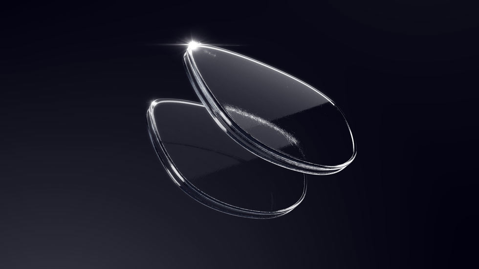 two lenses showing how to choose the right lenses for your glasses