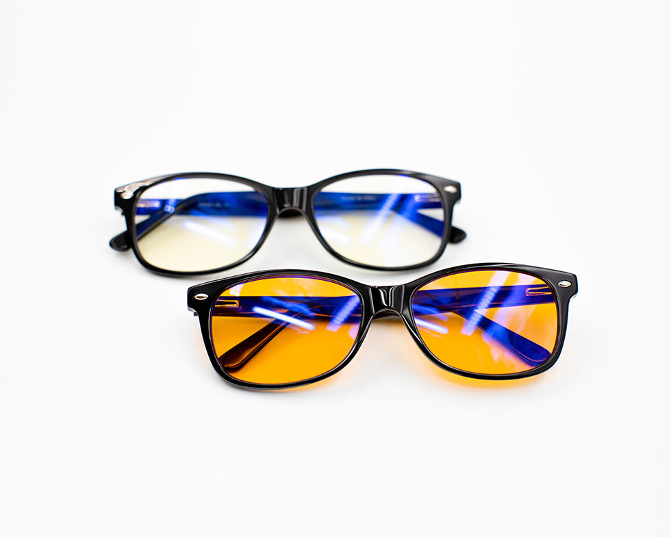 yellow hue blue light glasses